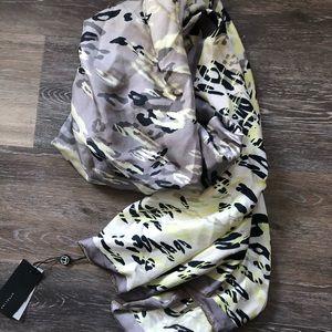 OTTOLINE by Hayley Menzies Silk leopard scarf